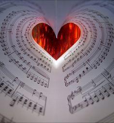 Heart Art #hearts, #books, #red, #pinsland, https://apps.facebook.com/yangutu/