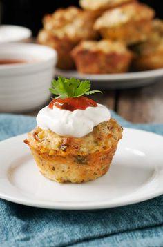 Gluten Free Mexican Mini Quiches - Simply...Gluten-Free