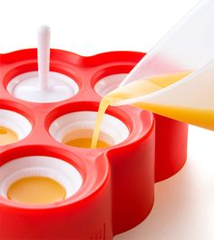Are you ready for summer? Check out the Zoku Mini Pop Molds can make nine freezer treats at a time