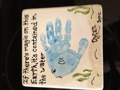 'Handprint art'