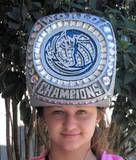 Dallas mavericks championship ring hat