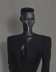 Grace Jones Photographer: Jean-Paul Goude