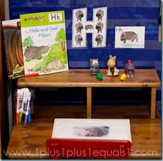 H is for Hippo Printables