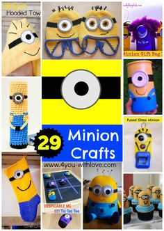 A roundup of 29 Minions you can make!