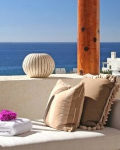 Furnished private terraces are they for sunbathing by day and stargazing after dark. #Jetsetter
