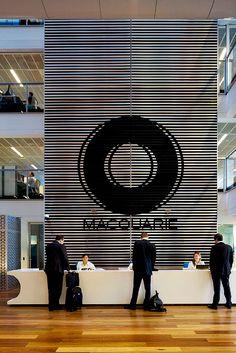 Lobby signage  #Modern #Design #Office