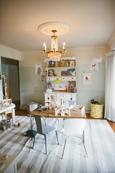 Awesome playroom | Photography: Yazy Jo - yazyjo.com  Read More: http://www.stylemepretty.com/living/2014/09/22/la-la-lovely-home-tour/