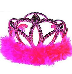 Bachelorette Party Must-Have - Adorable Pink Tiara $3.99
