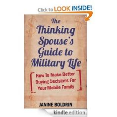 The Thinking Spouse's Guide to Military Life - Sounds like a great resource! - MilitaryAvenue.com
