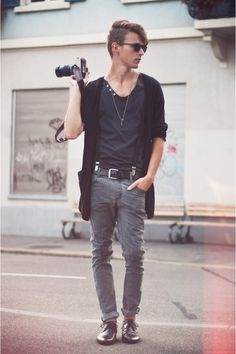 Mens fashion.