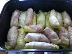 Everything Susan: Cabbage Rolls a Low Carb Recipe ( Need to try this with ground chicken, meh don't really like pork and beef)