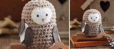 Make a crochet owl Pinned by www.myowlbarn.com