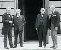 the big four of the treaty of versailles The countries that made up the big four at the versailles peace talks are the united states of america, france, britain and italy the versailles peace talks happened in the year 1919 at paris.