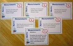 Science Stuff: Metric Measurement Task Cards