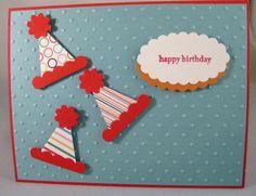 pennant punch birthday hats