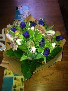 my beautiful valentines flowers