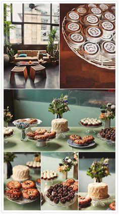 love this dessert table! <3