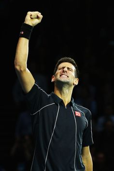 Novak Djokovic - Barclays ATP World Tour Finals: Day 8