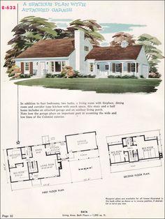National Plan Service Plan E-632 - 1955