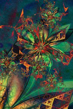 sky, heroes, pinwheels, fractal art, flowers