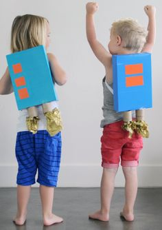Summer storms heading your way? Here are 18 Rainy Day Activities (like Cereal Box Jet Packs) to save the day!