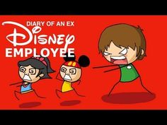 Diary of an ex Disney Employee- so insanely hilarious! LIPS!!!! (You'll understand when you watch it haha)