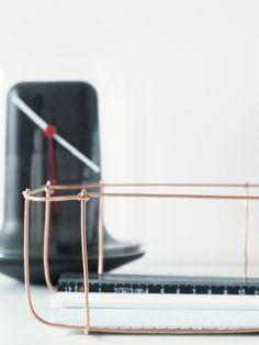 Wire storage DIY