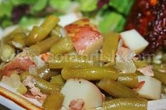 Deep South Dish: Southern Style Green Beans with New Potatoes