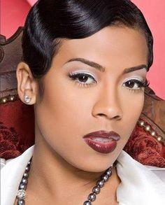 Keyshia-Cole..... can wear any hair color, any style... Gone Keyshia....beautiful ....always