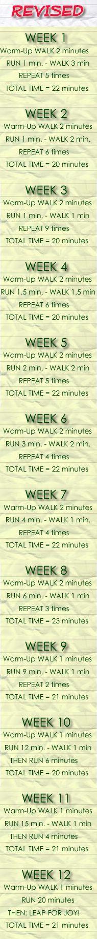 Beginner Runner Training