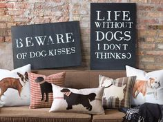 Freebie Fridays: Win an Adorable Dog Pillow From Studio 773 (http://blog.hgtv.com/design/2013/09/06/freebie-fridays-win-an-adorable-dog-pillow-from-studio-773/?soc=pinterest)