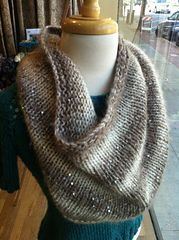Ravelry: Simple Glitz cowl pattern by Melissa Poon