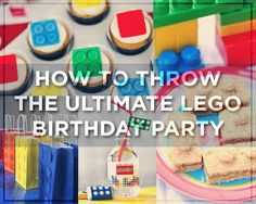 DIY. Plan the ultimate Lego birthday party. Food, decorations, favors, and links to free downloads.