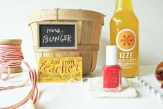 Summer In A Basket - gift idea for a teacher