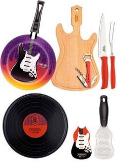 Utensílios de cozinha Rock and Roll