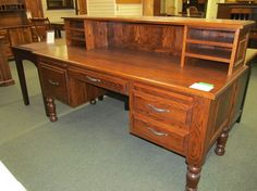 Traditional Laptop Desk with Cubby - eclectic - desks - columbus - Geitgey's Amish Country Furnishings
