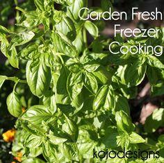 freezer crockpot cooking recipes using your garden
