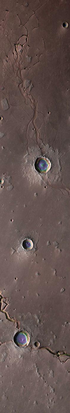 ♥ The Depths of Hephaestus Fossae, Mars