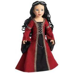Carpatina Dolls Carpatina Dolls Veronika Medieval Princess 18 Vinyl Slim Doll