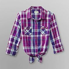 Dream Out Loud by Selena Gomez Junior's Flannel Shirt