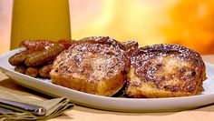 the chew | Recipe  | Leo And Benno's Cinnamon Swirl French Toast