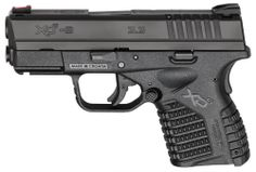 """Springfield Armory XDS 9mm 3.3"""" 7+1 Poly Grip Black - $448.32 + Free Shipping"""