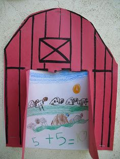 farm animal addition/ number sentence