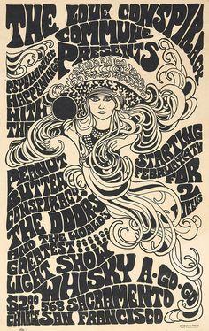 Concert poster - Peanut Butter Conspiracy 1967