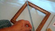 Lap Loom weaving