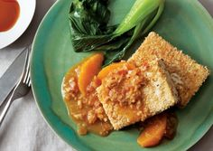 Sesame-Crusted Tofu with Lemongrass-Orange Reduction | Vegetarian Times
