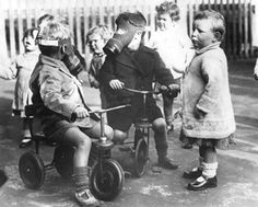 A child in Ipswich.  Click through to read an interesting short memoir about being a British child during the war ~