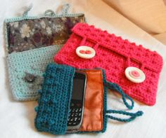 gadgets, bobbl case, crochet bags, granny chic, phone cases, crocheted bags, crochet patterns, stitches, stitch patterns
