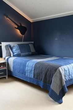 Tienerkamers on pinterest teenage room boy rooms and high sleeper - Blauwe kamer jongen ...