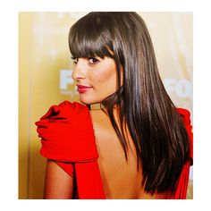 lea michele is love. ♥ ❤ liked on Polyvore